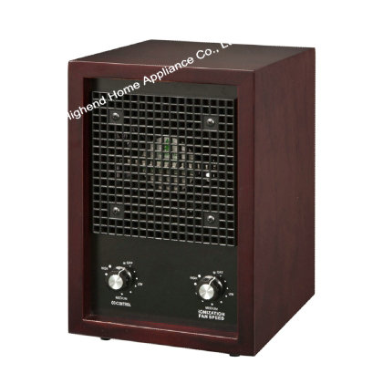 HE 221 Air Purifier with HEPA and ionizer